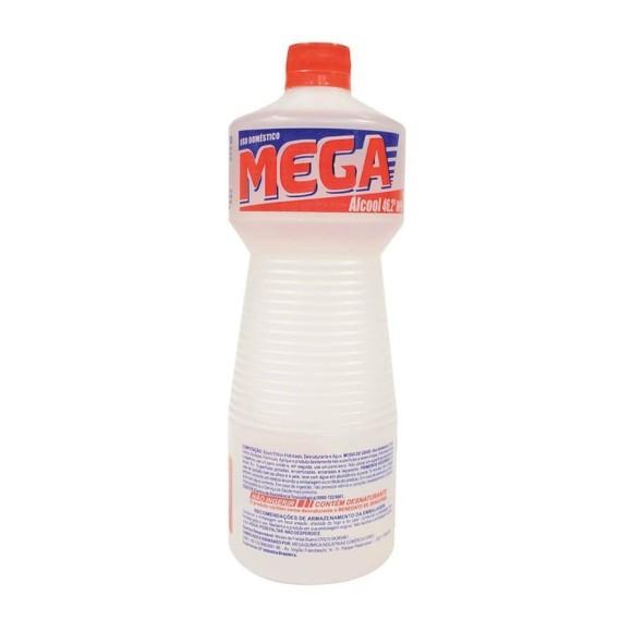 ALCOOL LIQUIDO 46% 1 LT MEGA